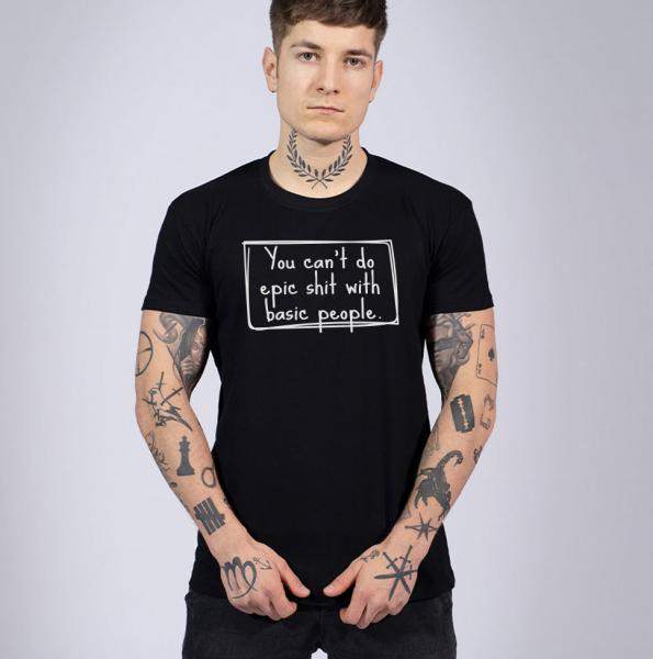 Epic Shit Herren T-Shirt mit Rundhalsausschnitt