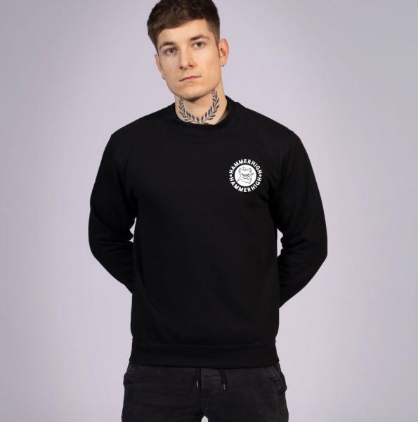 Hammerhigh Unisex Sweatshirt Black
