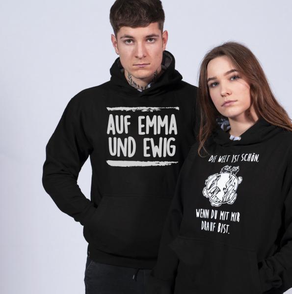 Auf Emma und Ewig Unisex Hoodie