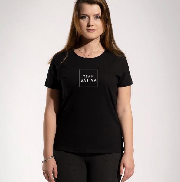 Team Sativa Girls Rundhals T-Shirt