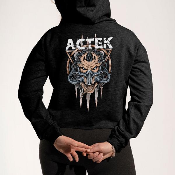 ACTEK Logo - Crop Hoodie